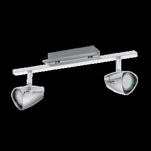 Led-Es Eglo Fali Lámpa Gu10 2X3W króm Corbera