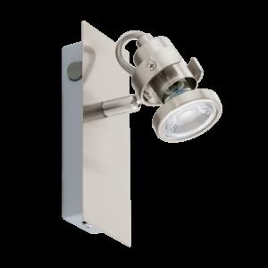 Led-Es Eglo Fali Lámpa Gu10 1X3,3Wmnikkel Tukon3