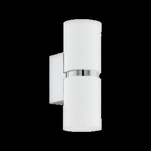 Led Eglo Fali Lámpa Gu10 2X3,3W króm/Fehér Passa