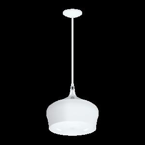 Eglo Függeszték E27 1X60W Fehér/krómobregon