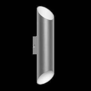 Ledeglo Fali Lámpa Gu10 2X3,3Wmnikl/Fehér Viegas