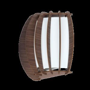 Eglo Fali Lámpa E27 1X60W Sötétbarna Stellato3