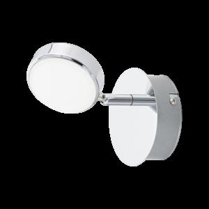 Led-Es Eglo Fali Lámpa 1X5,4W króm/Szat. Salto