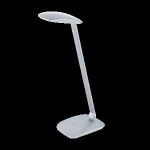 Led Eglo Asztali Lámpa 4,5Wérintők+Usb ezüst cajero