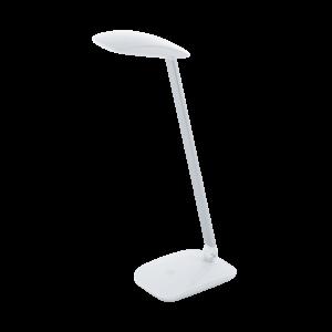 Led Eglo Asztali Lámpa 4,5Wérintők+Usb fehér cajero