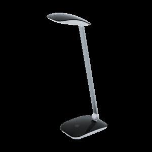 Led Eglo Asztali Lámpa 4,5W érintők+Usbf ekete cajero