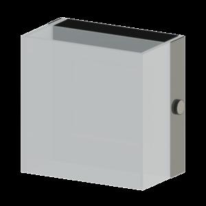 Led-Es Eglo Fali Lámpa 1X3,7W króm/Fehér Alea2