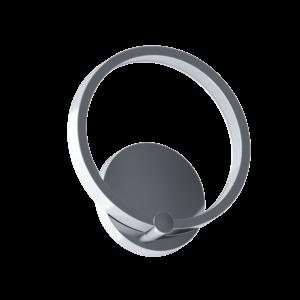 Led-Es Eglo Fali Lámpa 5W króm/Fehér Lasana