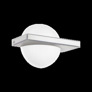 Led Eglo Fali Lámpa 1X11Wcsiszolt Alu/Fehérboldo