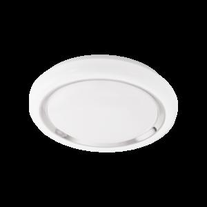 Eglo - Led Mennyezeti Ezeti 18W Fehér/króm Capasso