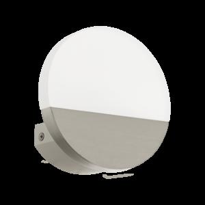 Led-Es Eglo Fali Lámpa 5W Mattnikkel Metrass1