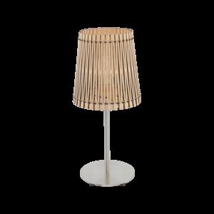 Eglo Asztali Lámpa E27 1X60W Juhar Sendero