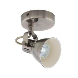 Ledeglo Fali Lámpa Gu10 1X3,3Wantiknik/Krém Seras