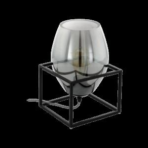 Eglo Asztali Lámpa E27 1X40W Fekete Olival 1