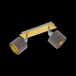 Eglo Fali Lámpa E14 2X40Wnik/Capp.Valbiano