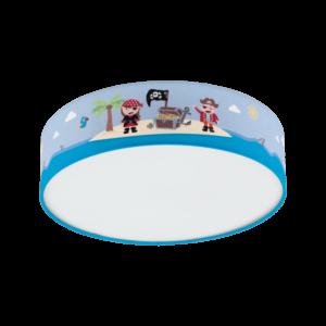 Eglo Gyermekszobai Mennyezeti  E27 2X40W 38Cm San Carlo