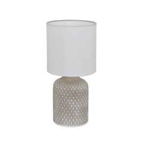 Eglo Asztali Lámpa E14 1X40W szürke/Fehér bellariva