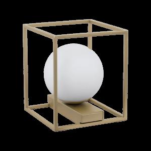 Eglo Asztali Lámpa E14 1X40W pezsgő/Fehér vallaspra