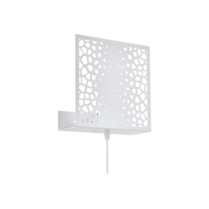 Led Eglo Fali Lámpa E27 1X10W Fehér Gallico