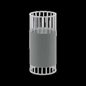 Eglo Asztali Lámpa E27 1X60W Fh/szürke Norumbega