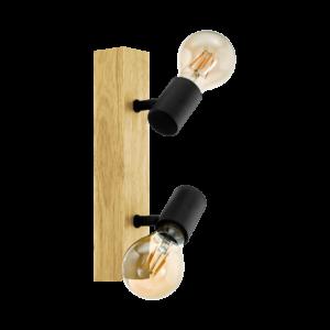 Eglo Fali Lámpa e27 2X60Wtölgy/Fektownshend3