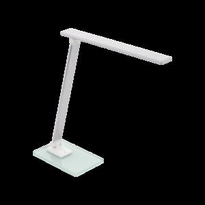 Led Eglo Asztali Lámpa Rgb 3W ezüst Conversana