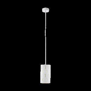 Eglo Függeszték E27 1X60W Fehér Ronsecco