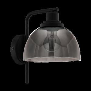 Eglo Fali Lámpa E27 1X60W Fekete Beleser