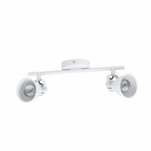 Led Eglo Fali Lámpa Gu10 2X3,3W Fehér Seras