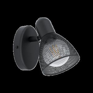 Eglo Fali Lámpa E14 28W Fekete Carovigno