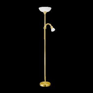 Eglo Álló Lámpa E27 60W + E14 25W Matt réz Up 2
