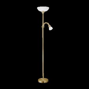 Eglo Álló Lámpa E27 60W+E14 25W Bronz Up 2