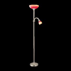 Eglo Álló Lámpa piros/narancssárga E27 60W+E14 40W Pirup4 13951