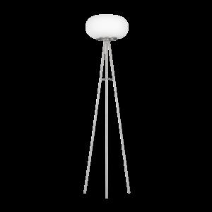 Eglo Álló Lámpa 2X60W E27 Matt nikkel/opál Optica