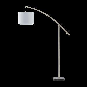 Eglo Álló Lámpa E27 1X60Wmnikkel/Fehérnadina