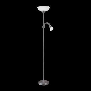 Eglo Álló Lámpa E27 60W+E14 25W nikkel-Nero Up 2