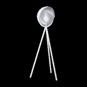 Eglo Álló Lámpa E27 40W Fehér/ezüst Darnius