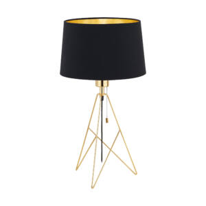 Eglo- CAMPORALE asztali lámpa, 1x60W- sárgaréz