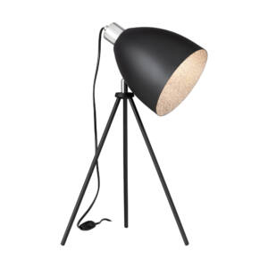 Eglo - MAREPERLA aztali lámpa, 1x60W- fekete