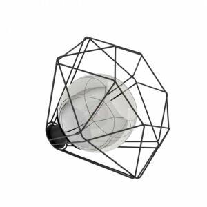 Eglo Asztali lámpa E27 1x40W fekete Vernham