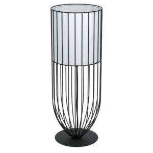 Eglo Asztali lámpa E27 1x60W fekete/fehér Nosino