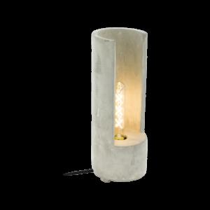 Asztali lámpa E27 1x60W 37cm beton szürke Lynton