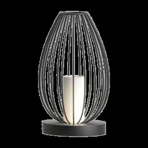 Asztali lámpa E27 60W fekete Newtown