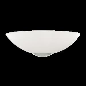 Eglo Fali Lámpa E27 1X60Wmatt nikkel/Fehér Malva