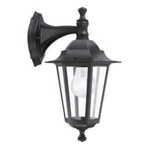 Eglo - Kültéri fali lámpa lefelé néző E27 1x60W fekete Laterna4