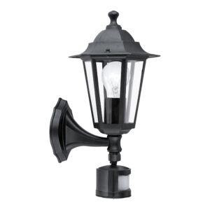 Eglo-Kültéri.fali lámpa E27 1x60Wszenz.fek.Laterna4
