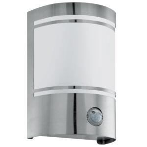 Eglo-Kültéri.fali lámpa E27 1x40Wszenz.nemesac.Cerno