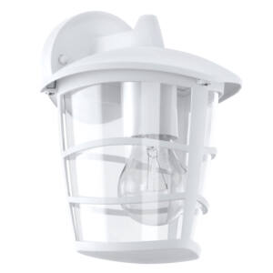 Eglo-Kültéri fali lámpa lefelé néző E27 60W fehér IP44 Aloria