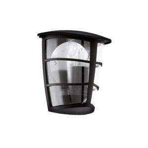 Eglo-Kültéri fali lámpa E27 60W 18*20*12cm fk Aloria