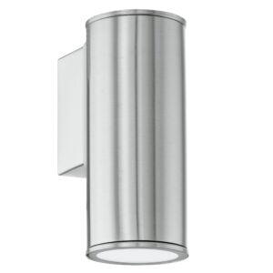 Eglo-Kültéri.fali lámpa GU10 1x3W nemes acél Riga